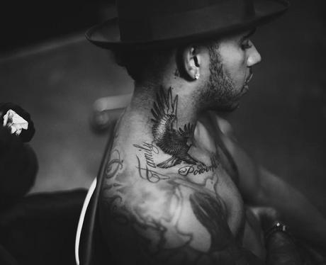 Lewis Hamilton Eagle Tattoo