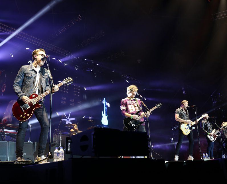 McBusted live at Fusion Festival 2015