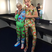 Image 1: Miley Cyrus backstage at MTV VMAs 2015