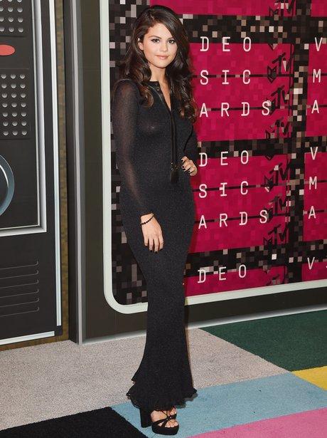 Selena Gomez - MTV VMAs 2015 red carpet arrivals