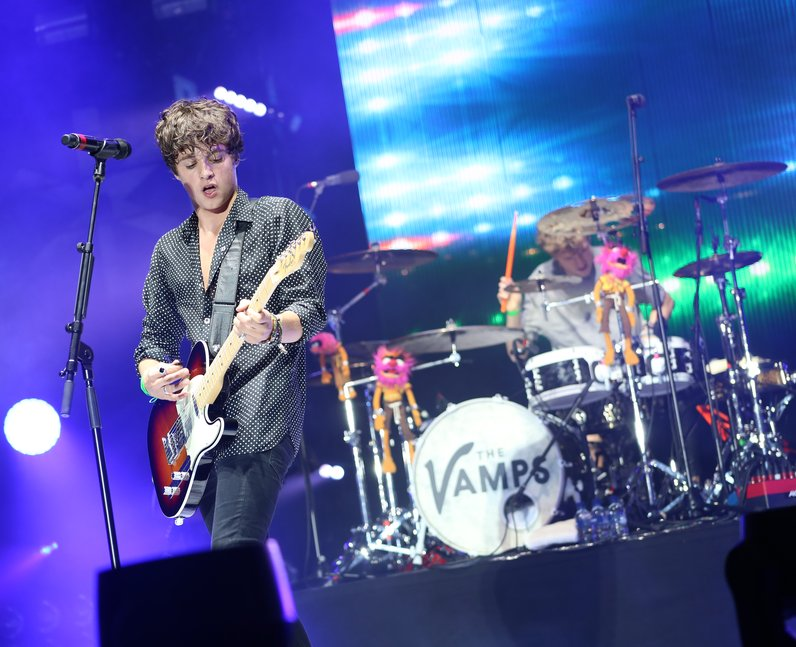 The Vamps live at Fusion Festival 2015