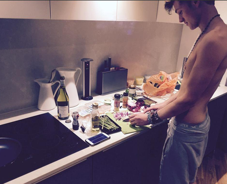 Tristan The Vamps Cooking