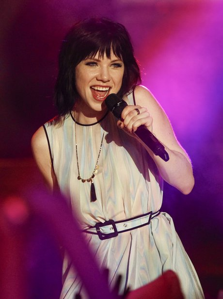 Carly Rae Jepsen performs at the MTV World Stage L