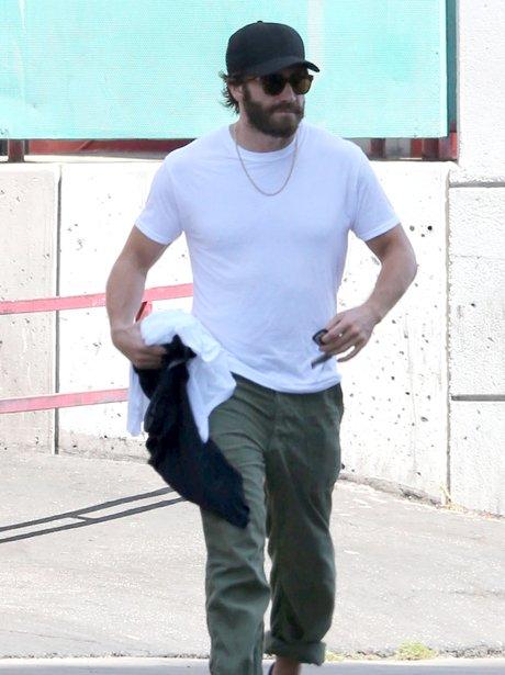 Jake Gyllenhaal with Beard