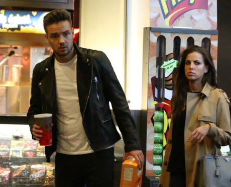 Liam Payne and girlfriend at the movies