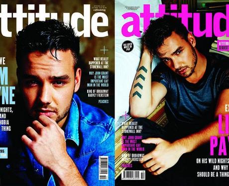 Liam Payne Attitude Magazine Cover