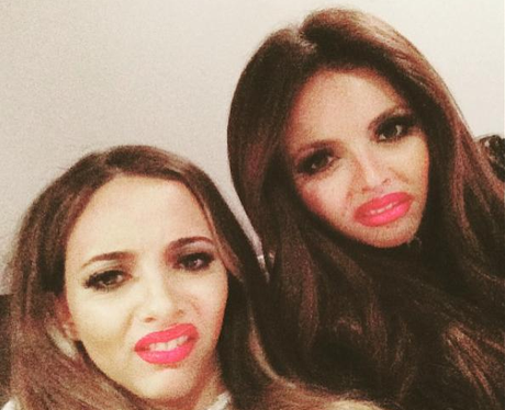 Little Mix Jade and Jesy Instagram