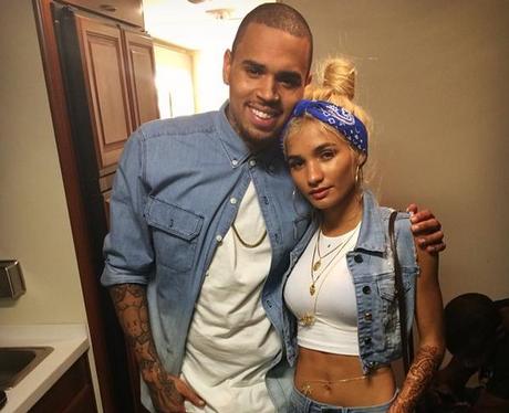 Pia Mia With Chris Brown