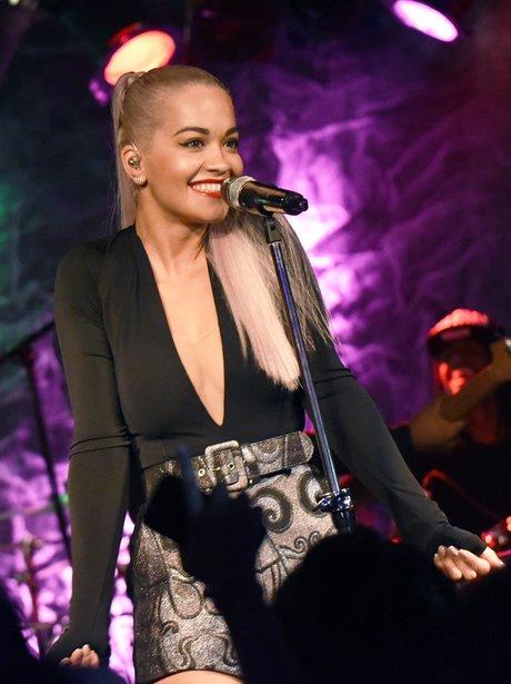 Rita Ora performs at The Loft in Atlanta