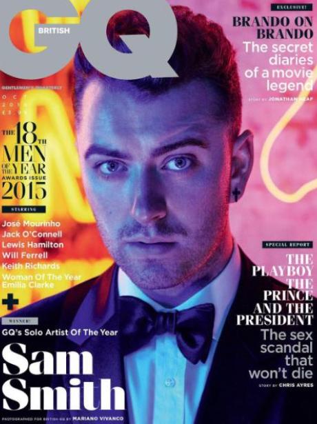 Sam Smith GQ Cover Instagram