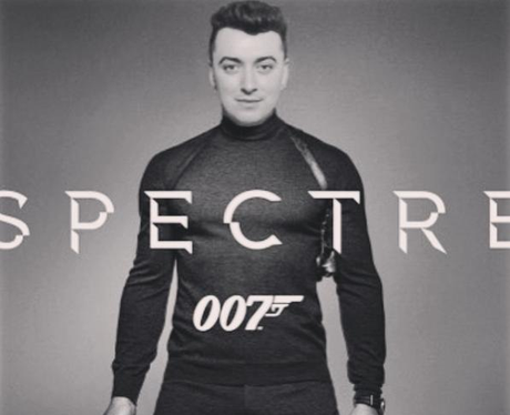 Sam Smith Spectre Instagram