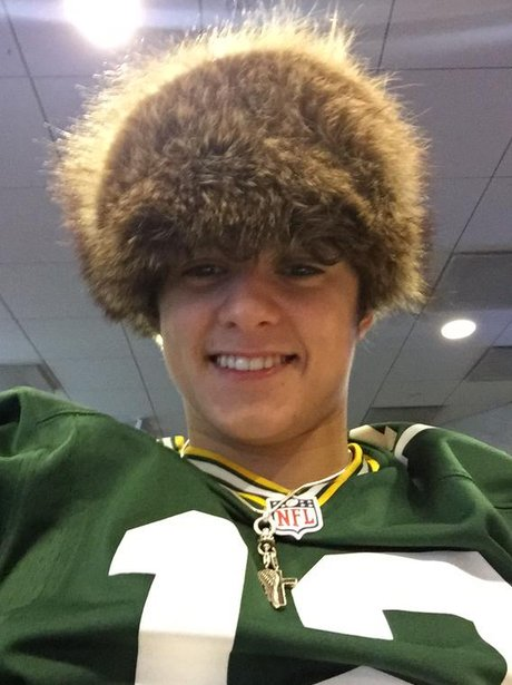 The Vamps' Brad Simpson hat