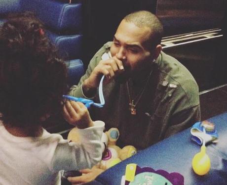 Chris Brown Royalty Doctor Tour Bus