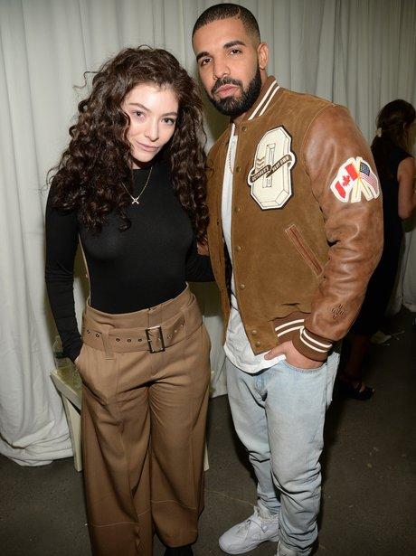 Drake and Lorde New York Fashion Week 2015