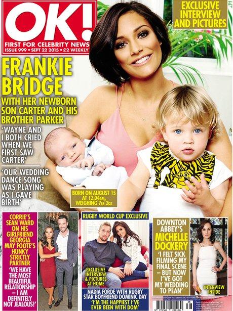 Frankie Bridge OK Magazine