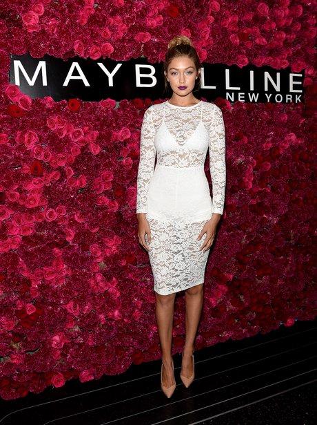 Gigi Hadid attends Maybelline New York Celebrates