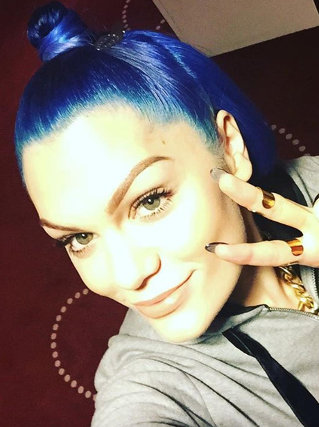 Jessie J Blue Hair