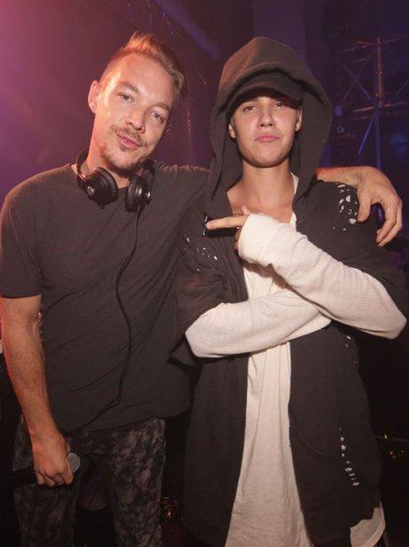 Justin Bieber and Diplo