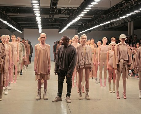 Kanye West New York Fashion Week 2015