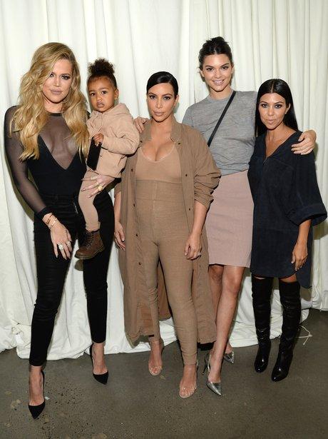 Kardashians New York Fashion Week 2015