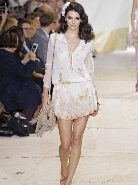 Kendall Jenner Spring 2016 New York Fashion Week