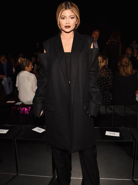 Kylie Jenner New York Fashion Week 2015