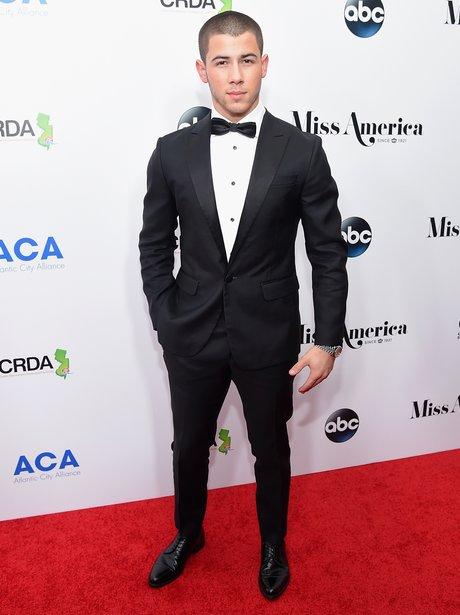 Nick Jonas attends the 2016 Miss America Competiti