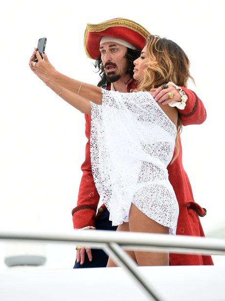 Nicole Scherzinger and Pirate