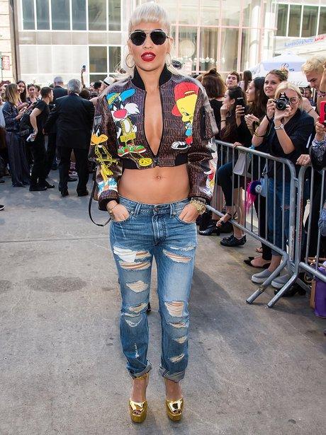 Rita Ora New York Fashion Week 2015