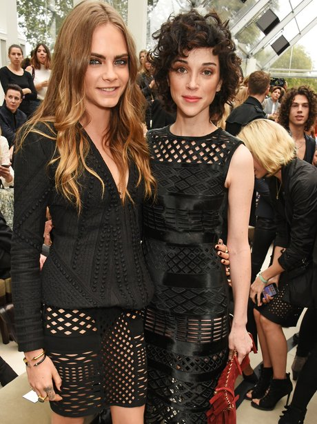 Cara Delevingne and St Vincent London Fashion Week