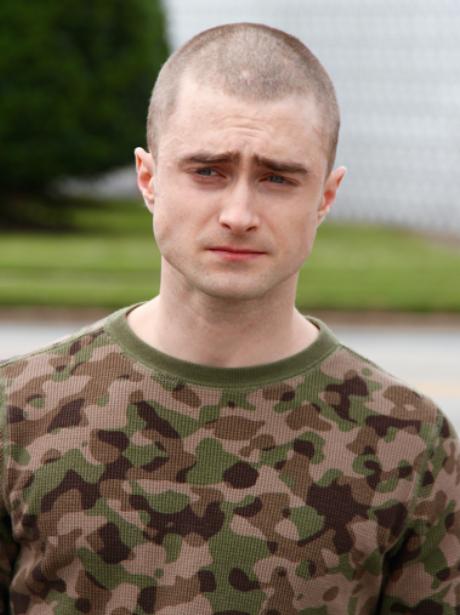 Daniel Radcliffe Shaved Head Google+