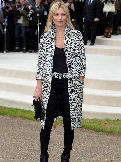 Front Row London Fashion Week