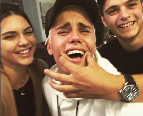 Kendall Jenner, Martin Garrix and Justin Bieber