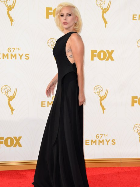 Lady Gaga Emmy Awards 2015