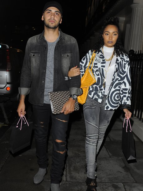 Leigh Anne Pinnock and her boyfriend
