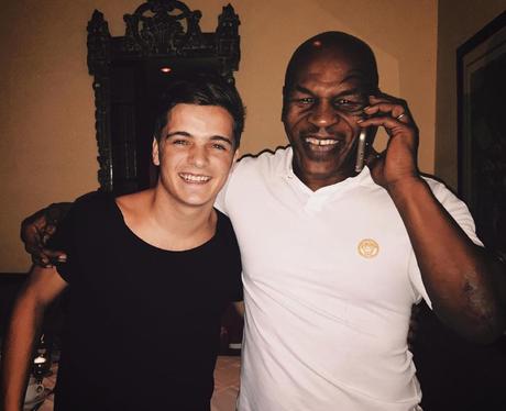 Martin Garrix and Mike Tyson
