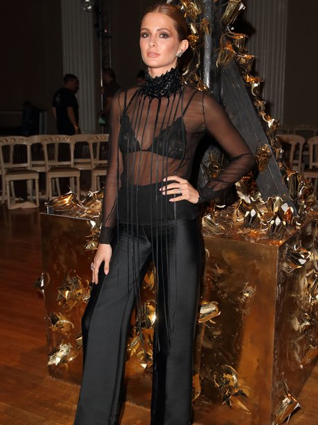 Millie Mackintosh Fashion Week 2015