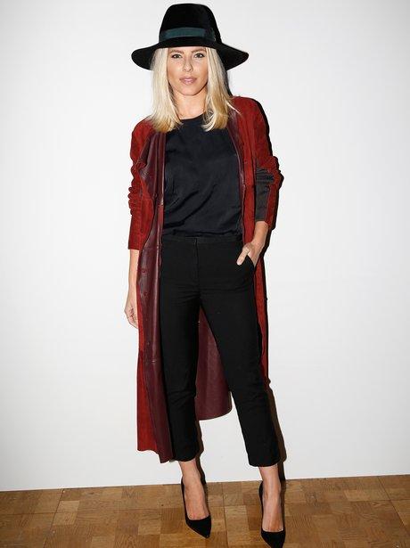 Mollie King London Fashion Week 2015