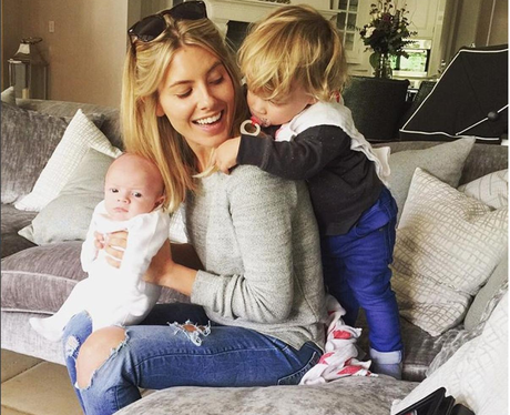 Mollie King With Frankie's Children