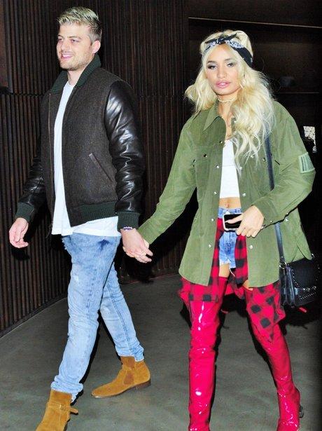 Pia Mia and Boyfriend