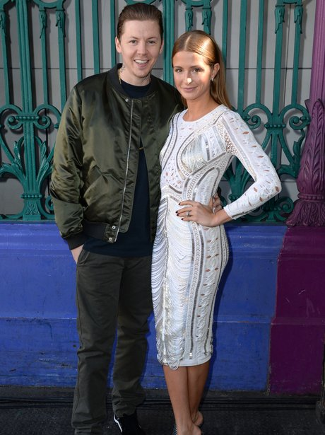 Professor Green and Millie Mackintosh London Fashi