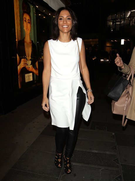 Frankie Sandford Leather Trousers