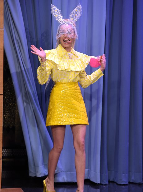 Miley Cyrus Bunny Ears The Tonight Show
