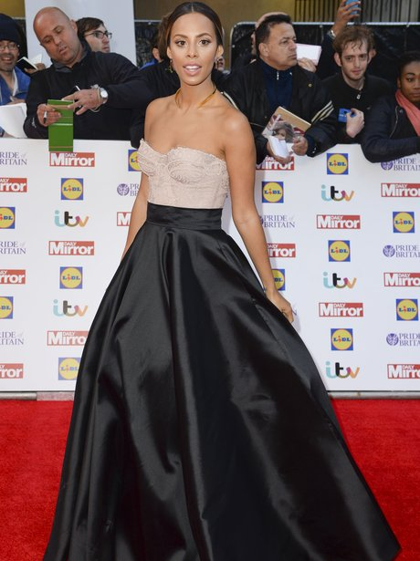 Rochelle Humes Pride Britain Awards 2015