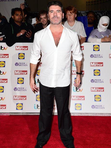 Simon Cowell Pride Of Britain Awards 2015