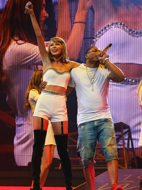 Taylor Swift and Nelly 1989 Tour