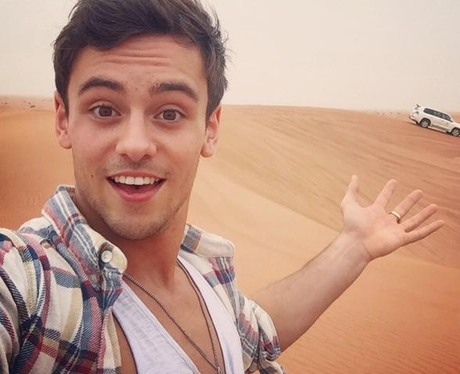 Tom Daley 2015 Instagram