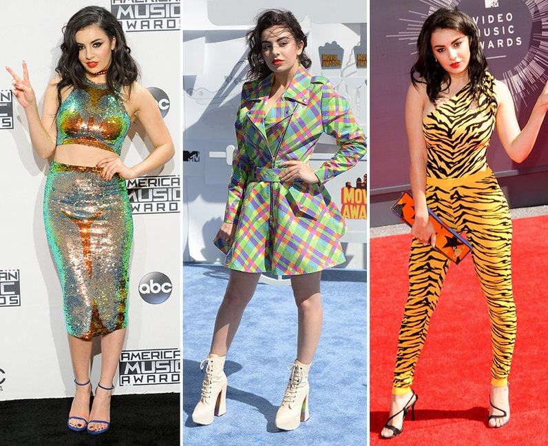 Celebrities Dress Loud: Charli XCX
