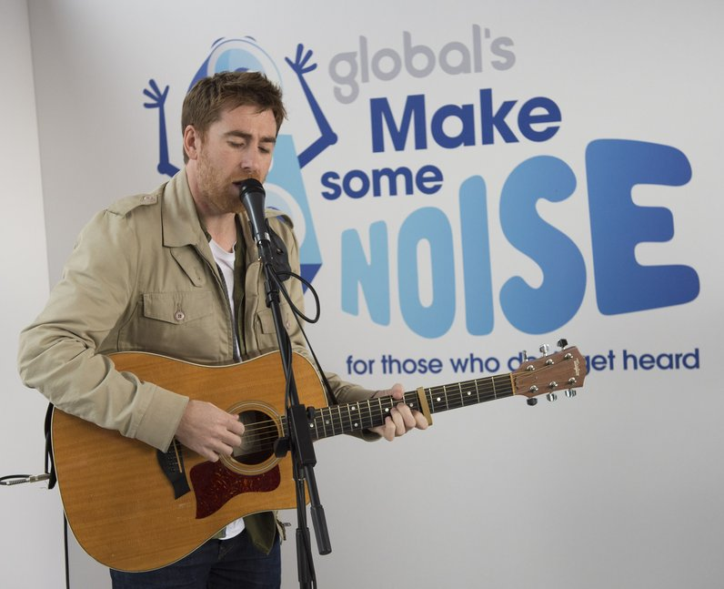 Jamie Lawson Global's Make Some Noise 2015