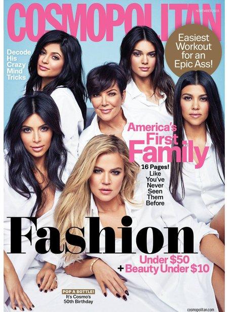 Kardashians Cosmopolitan Magazine 2015